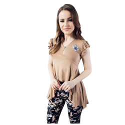 Women's pajama with stylish modern design and multiple colors