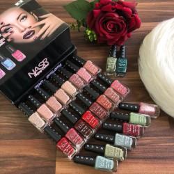 Nail polish box for girls of distinctive colors